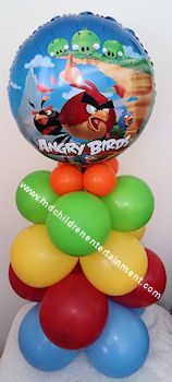 Bird Balloon Column Decoration - Toronto, Vaughan, Newmarket
