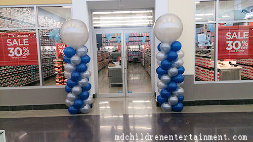 Balloon Spiral Columns - Store Grand Openings - Toronto - GTA
