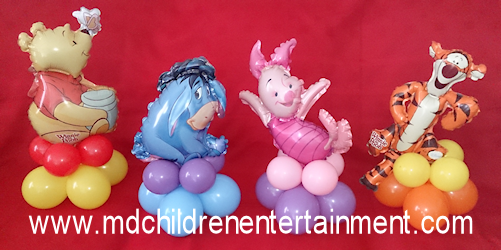 Winnie The Pooh Balloon Centerpiece Decorations - Toronto, Vaughan, Newmarket