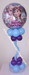 Balloon Centerpiece Frozen Theme - Toronto, Vaughan, Newmarket
