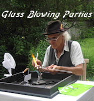 Glass blowing parties for kids birthday's, corporate events and all occasions. Toronto, Hamilton and gta.