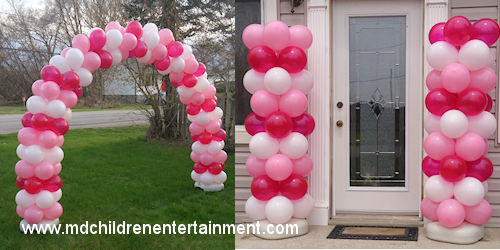 Custom Balloon Decorations - Newmarket, Vaughan, Toronto