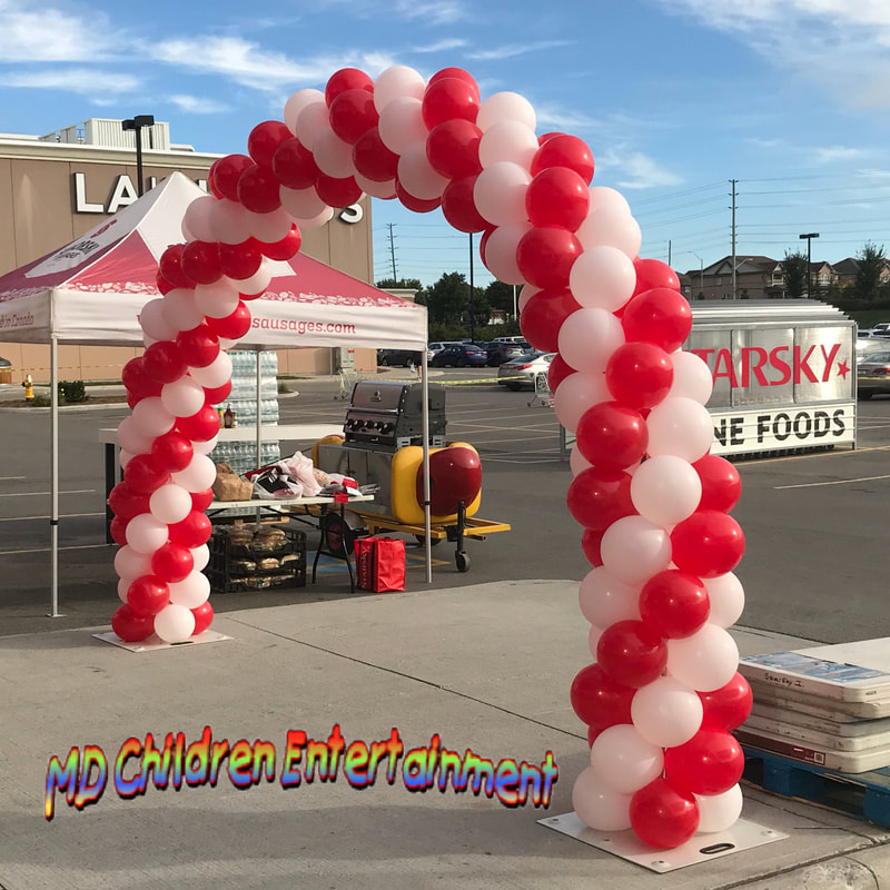Balloon arch and decor available for corporate events in Toronto and gta!