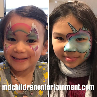 Toronto face painting services! Hire face painters in Toronto and the gta!