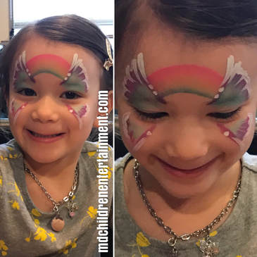 Hire face painter Tanya for kids parties in Toronto, Newmarket, Vaughan and surrounding areas.