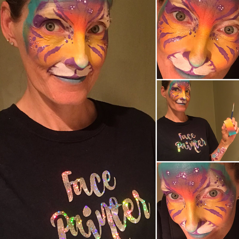 Face Painter Tanya provides excellent face painting services in Toronto, Ontario!