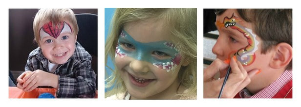 Face painting services - Toronto, Newmarket and gta. Kids birthday parties and corporate events!