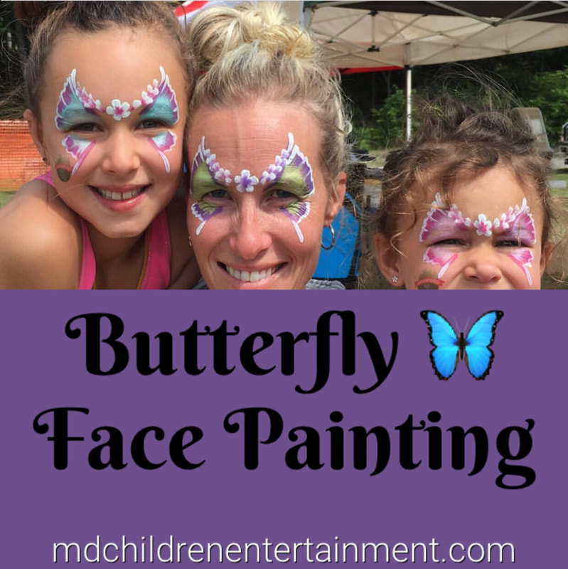 Awesome face painting services for kids parties and events in Toronto!
