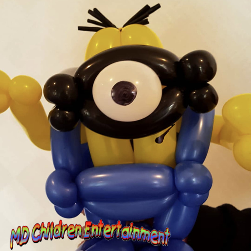 Balloon art for corporate events in Toronto.