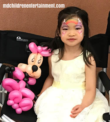 Face painting and balloon twisting parties in Toronto and the gta!