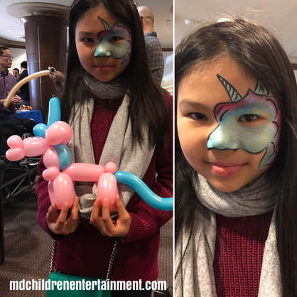 Balloon animals and face painting for birthday parties! We service Toronto and the gta!