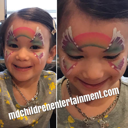 Fantastic face painting services for kids parties and events in Newmarket, Ontario.